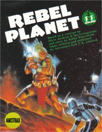 Box cover for Rebel Planet on the Amstrad CPC.