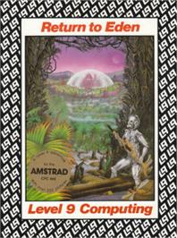 Box cover for Return to Eden on the Amstrad CPC.