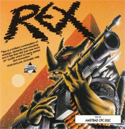 Box cover for Rex on the Amstrad CPC.