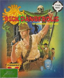 Box cover for Rick Dangerous on the Amstrad CPC.