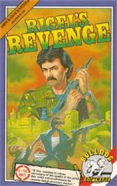 Box cover for Rigel's Revenge on the Amstrad CPC.