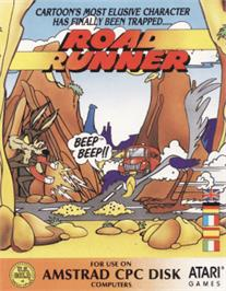 Box cover for Road Runner on the Amstrad CPC.
