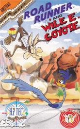 Box cover for Road Runner and Wile E. Coyote on the Amstrad CPC.