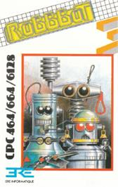 Box cover for Robbbot on the Amstrad CPC.