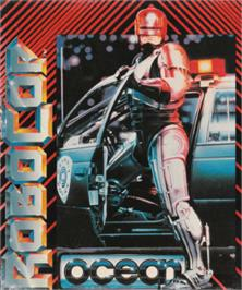 Box cover for Robocop on the Amstrad CPC.