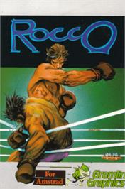 Box cover for Rocco on the Amstrad CPC.