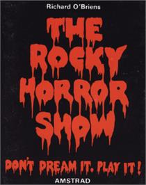 Box cover for Rocky Horror Show on the Amstrad CPC.