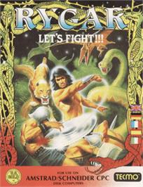 Box cover for Rygar on the Amstrad CPC.