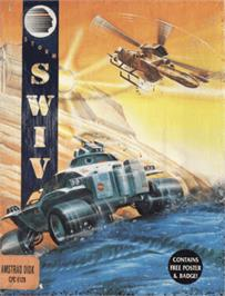 Box cover for S.W.I.V. on the Amstrad CPC.