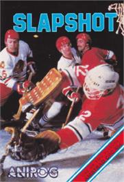 Box cover for SLAP-SHOT! Hockey on the Amstrad CPC.