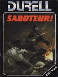 Box cover for Saboteur on the Amstrad CPC.