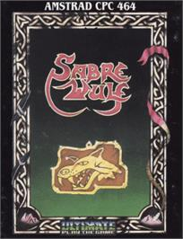 Box cover for Sabre Wulf on the Amstrad CPC.