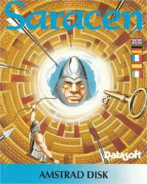 Box cover for Saracen on the Amstrad CPC.
