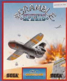 Box cover for Scramble Spirits on the Amstrad CPC.