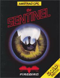 Box cover for Sentinel on the Amstrad CPC.