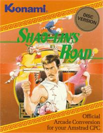 Box cover for Shao-lin's Road on the Amstrad CPC.