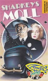 Box cover for Sharkey's Moll on the Amstrad CPC.