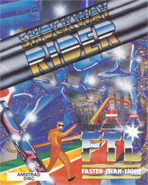 Box cover for Shockway Rider on the Amstrad CPC.