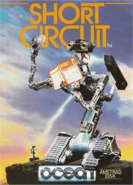 Box cover for Short Circuit on the Amstrad CPC.