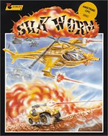 Box cover for Silk Worm on the Amstrad CPC.