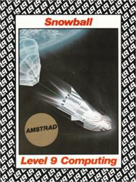 Box cover for Snowball on the Amstrad CPC.