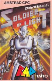 Box cover for Soldier of Light on the Amstrad CPC.
