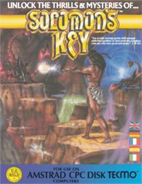 Box cover for Solomon's Key on the Amstrad CPC.