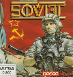 Box cover for Soviet on the Amstrad CPC.