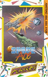 Box cover for Space Ace on the Amstrad CPC.