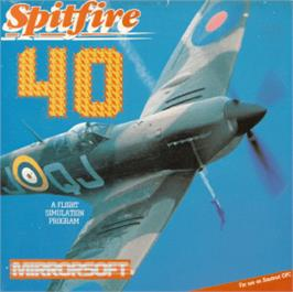 Box cover for Spitfire '40 on the Amstrad CPC.