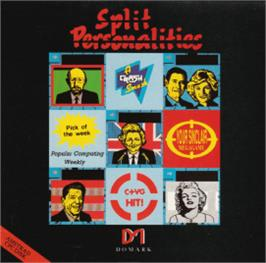 Box cover for Split Personalities on the Amstrad CPC.