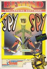 Box cover for Spy vs. Spy on the Amstrad CPC.