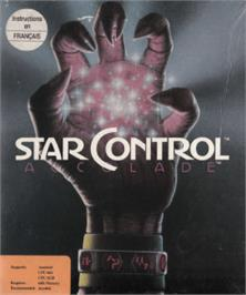 Box cover for Star Control on the Amstrad CPC.