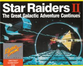 Box cover for Star Raiders 2 on the Amstrad CPC.