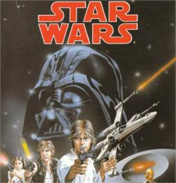 Box cover for Star Wars: Return of the Jedi on the Amstrad CPC.