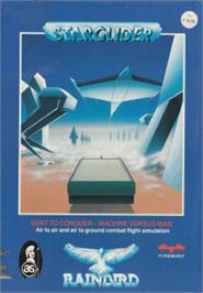 Box cover for Starglider on the Amstrad CPC.