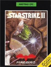 Box cover for Starstrike 2 on the Amstrad CPC.