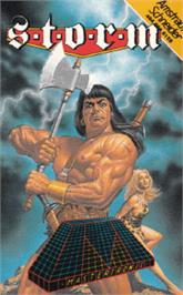 Box cover for Storm on the Amstrad CPC.