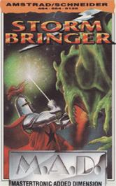 Box cover for Stormbringer on the Amstrad CPC.