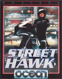 Box cover for Street Hawk on the Amstrad CPC.