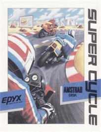 Box cover for Super Cycle on the Amstrad CPC.