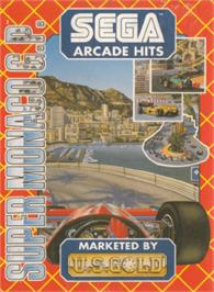 Box cover for Super Monaco GP on the Amstrad CPC.