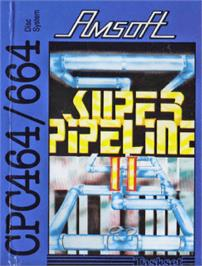 Box cover for Super Pipeline 2 on the Amstrad CPC.