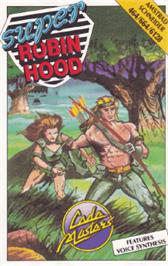 Box cover for Super Robin Hood on the Amstrad CPC.