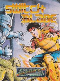 Box cover for Switchblade on the Amstrad CPC.