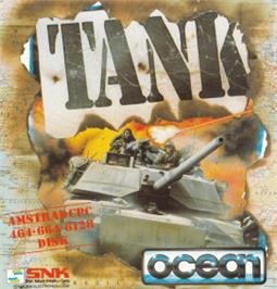 Box cover for Tank on the Amstrad CPC.
