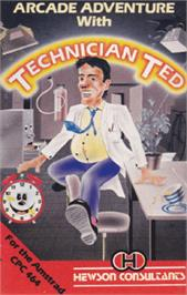 Box cover for Technician Ted on the Amstrad CPC.