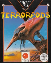 Box cover for Terrorpods on the Amstrad CPC.