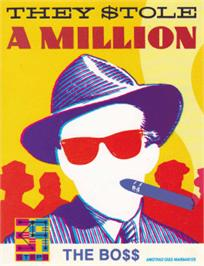 Box cover for They Stole a Million on the Amstrad CPC.