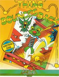 Box cover for Thing Bounces Back on the Amstrad CPC.